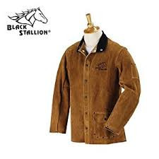 "Split Cowhide Welding Jacket, 30"" Length"