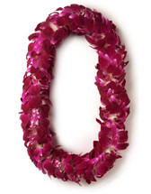 One (1) Deluxe Dendrobium Orchid Lei