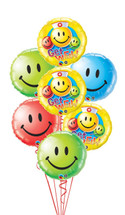 Get Well Smiley Faces Bouquet