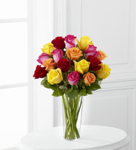 TheBright Spark Rose Bouquet