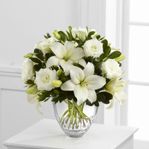 TheWhite Elegance Bouquet by Vera Wang