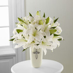 The Faithful Blessings Bouquet - VASE INCLUDED