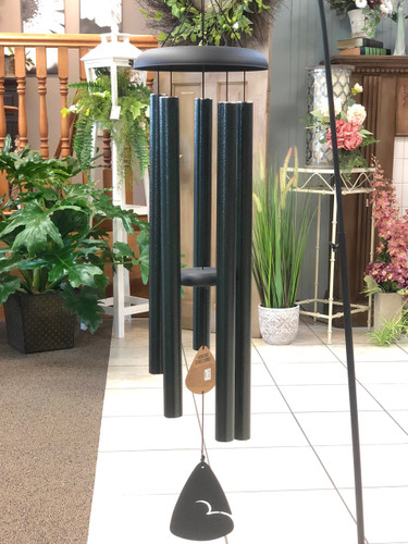 """Wind Chime 44"""" Solid Color. Available in Red, Green & Blue. (LOCAL DELIVERY ONLY) Stand not included"""