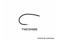 Tiemco TMC 2488 3X-Wide Scud/Pupae Hook