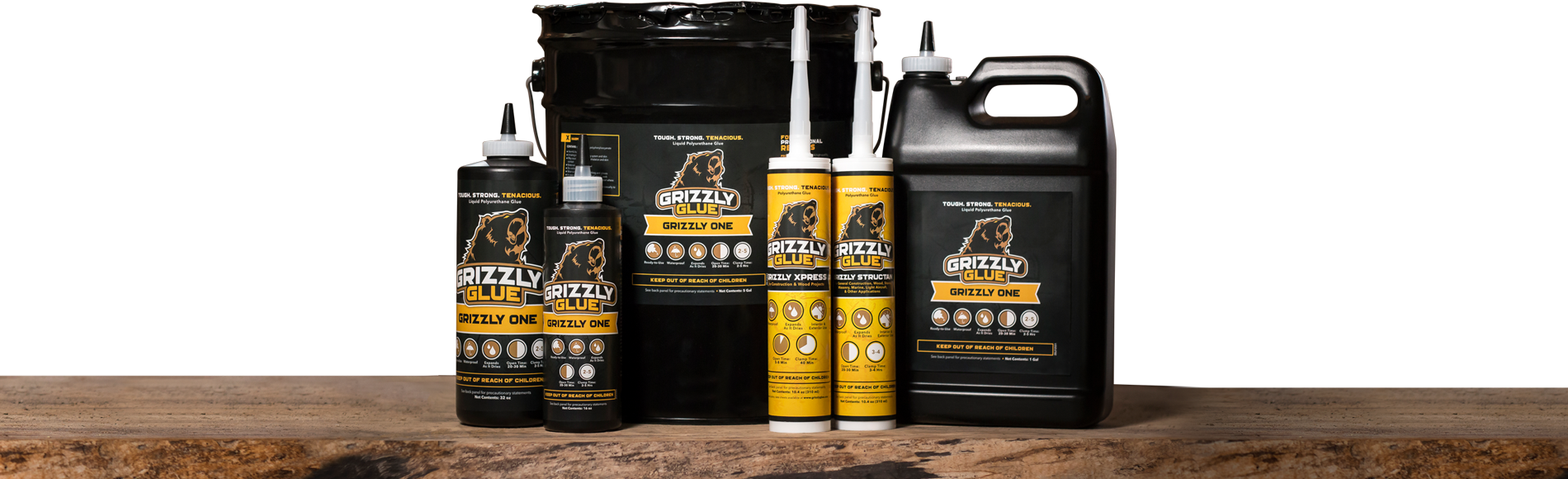 Grizzly Glues