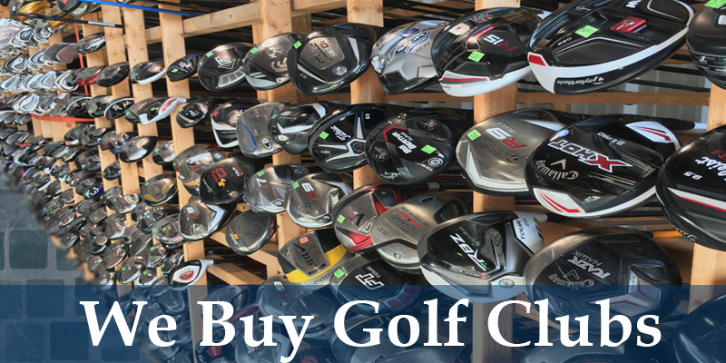 We Buy Sell and Trade Golf Clubs