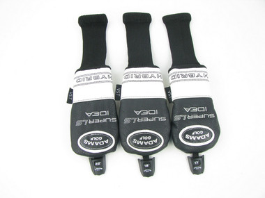 Set of 3 NEW Adams Idea Super LS Hybrid Headcovers