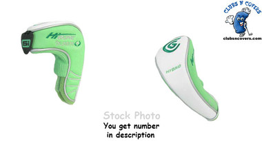Cleveland Hi Bore Bloom Ladies Hybrid Headcover