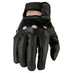 Black Motorcycle Glove