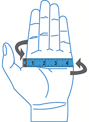 Mens Gloves Size Chart