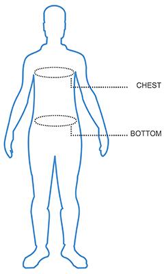 Mens Vest Size Chart