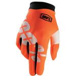 Orange Motorcycle Glove