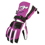 Purple Motorcycle Glove