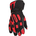 Red Motorcycle Glove