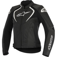 Alpinestars Stella Jaws Perforated Leather Jacket