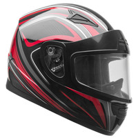 Vega Mach 2.0 Jr. Tech Snow Helmet Red