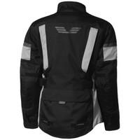 Olympia Women's Durham Waterproof Jacket Silver Back