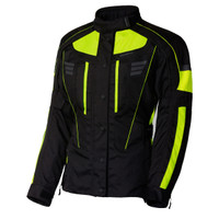 Olympia Women's Durham Waterproof Jacket Hi Viz