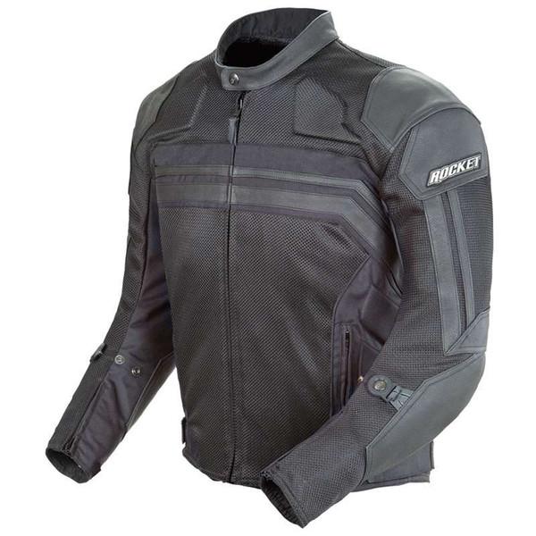 Joe Rocket Reactor 3.0 Leather Jacket Black