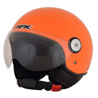 AFX FX-33 Hi-Vis Open Face Helmet Orange