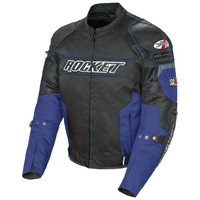 Joe Rocket Resistor Mesh Jacket Blue