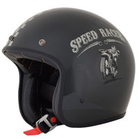 AFX FX-76 Speed Racer Helmet Black