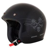 AFX FX-76 Raceway Helmet Black