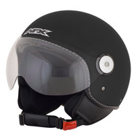 AFX FX-33 Open Face Helmet Flat Black
