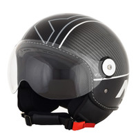 AFX FX-33 Veloce Open Face Helmet Silver