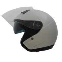 Vega VTS1 Open Face Helmet Silver