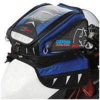 Oxford X30 Magnetic Tank Bag Blue