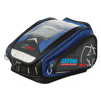 Oxford X30 Quick Release Tank Bag Blue