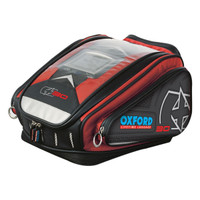 Oxford X30 Quick Release Tank Bag Red
