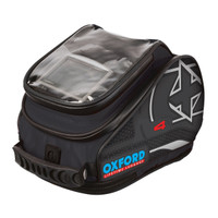 Oxford X4 Tank N Tailer Tank Bag Black