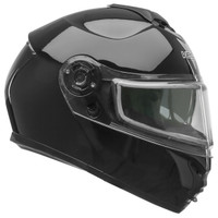 Vega VR1 Snow Modular Helmet With Dual Lens Shield Black