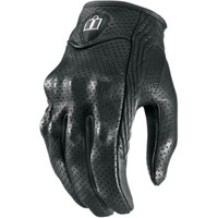 Icon Women's Pursuit Perforated Gloves Black