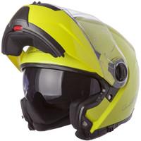 LS2 Strobe Hi-Vis Yellow Modular Helmet 1