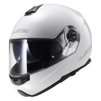LS2 Strobe White Modular Helmet