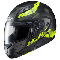 HJC CL-MAX II Friction Modular Helmet Yellow