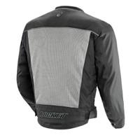 Joe Rocket Velocity Mesh Textile Jacket Silver back Side View
