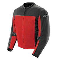 Joe Rocket Velocity Mesh Textile Jacket Red