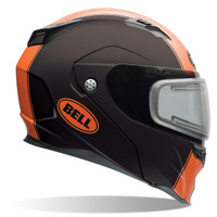 Bell Revolver Evo Rally Snow Helmet with Electric Shield Orange