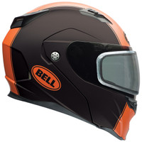 Bell Revolver Evo Rally Snow Helmet with Dual Shield Orange