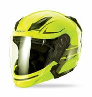 Fly Racing Tourist Vista Helmet  Yellow