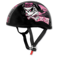Skid Lid Bad To The Bone Half Helmet 1
