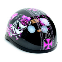 Skid Lid Bad To The Bone Half Helmet 5