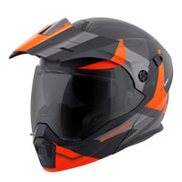 Scorpion EXO-AT950 NeoCon Dual Sport Graphics Helmet Orange