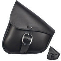 Willie & Max Leather Triangulated Swingarm Bag
