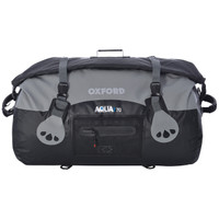 Oxford Aqua T-70 Roll Bag Black/Gray