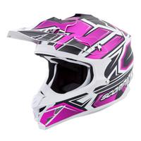 Scorpion VX-35 Finnex Helmet Pink Main View